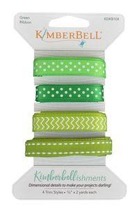 91043: Kimberbell KDKB104 - Kimberbellishments Green Ribbon Set Purchase