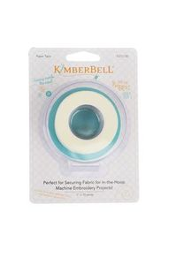 91101: Kimberbell KDTL100 Tear Away Paper Tape 1in x 10yds, Hold Fabrics for In The Hoop Embroidery