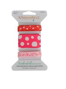 Kimberbell KDKB107 Kimberbellishments Valentine Ribbon Set