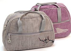 91179: Bluefig DS Series Satchel in Songbird Purple, or Blossom Grey