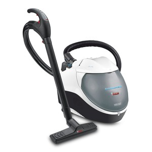91187: Polti PVNA0004 Eco Steam Vac Dual, White Canister Steam Cleaner