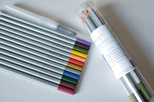 91429: Kimberbell KDKB150 Watercolor Pencil Set - Jewel Tones