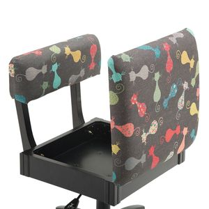 91803: Arrow H6103 Cat's Meow Hydraulic Sewing Swivel, Chair Underseat Storage