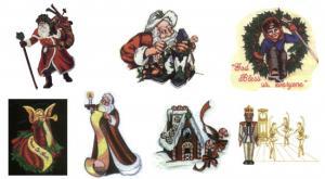 Balboa Threadworks 66X Christmas Collection 4 4x4 Embroidery Disks