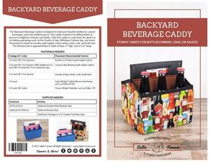 Sallie Tomato LST110, Backyard Beverage Caddy Paper Pattern