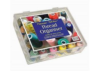 91830: Tacony 40070024 Thread Organizer Storage Box for 30 Mini King Cone Spools