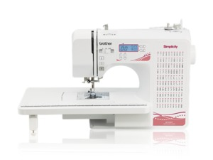 92044: Simplicity Brother SB1000T 100 Stitch Computer Sewing Machine+Ext Table