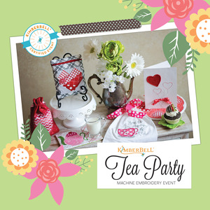 92055: Kimberbell Tea Party 2 Day Embroidery Event Jan 4-5 2019 Houston Store