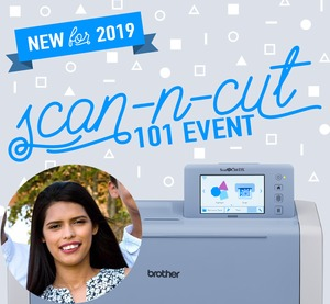 92205: ScanNCut 101 Class January 26 2019 Saturday 10am-4pm New Orleans LA Store