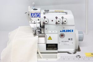 Juki MO-6804S 0E4-30H, 1 Needle, 3 Thread, Serger, Ove lock, Industrial, Machine, Assembled, Power, Stand, Juki MO-6804S 1 Needle 3 Thread Serg Thread Overlock Serger 4mm Stitch Width, 3.8mmSL, 4:1 Diff Feed, Assembled Submerged Power Stand 7000SPM (MO6704)