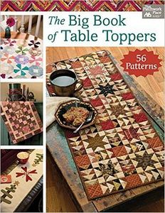 The Big Book of Table Toppers B1405, 240 Pages by Karen M. Burns