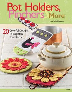 92332: Annie's DRG3723 Pot Holders, Pinchers and More, 48 Page Idea Book