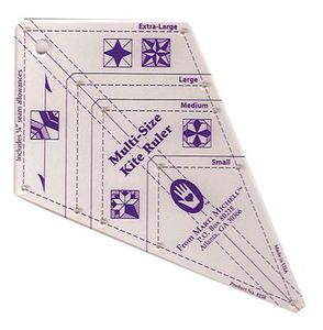 Michell M8158, The Multi Size Kite Ruler, Small, Medium, Large, Extra Large