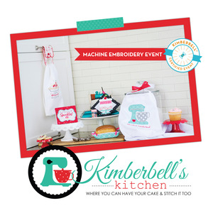 92403: Kimberbell Stitchin in the Kitchen 2 Day Embroidery Event Feb 15-16 2019 Lake Charles Store