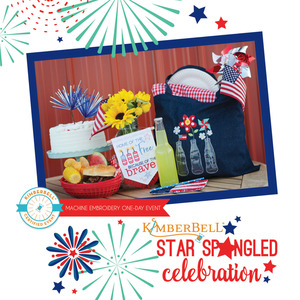 92406: Kimberbell Star Spangled Celebration 1 Day Machine Embroidery Event Saturday June 8 New Orleans Store