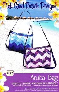 43626: Pink Sand Beach Designs PSB122 Aruba Bag Pattern