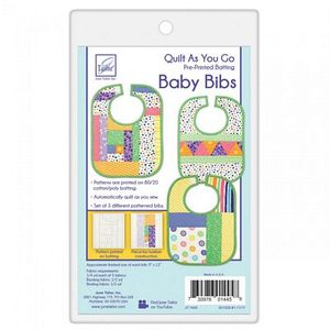 June Tailor Inc JT1445 Quilt As You Go Baby Bibs 3 Pack