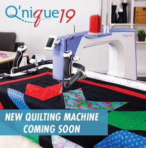 "Qnique 19"" Longarm Quilting Machine, Stitch Regulation, Encoders, Front Handles, Electronic Controls Display Panel for Grace Q Zone Continuum Frames, Grace, Qnique, 21, Long, arm, Machine, Head, Grace Qnique21 Longarm Quilting Machine Head Only with Stitch Regulation"