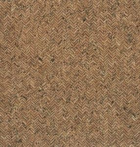 "92670: Eversewn VL50R101 Herringbone Natural Cork Fabric 27"" x 1 Yard"