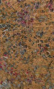 "Eversewn VL986R101, Distressed Flower Natural Cork Fabric 1 Yard x 27"""