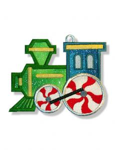 Dalco EasyStitch Applique Choo Choo Christmas Collection Disk