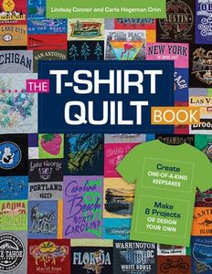 92695: C&T CT11247 T Shirt Quilt Book 8.5x11in, 80 Pages, Color, Recycle with Carla Hegeman Crim & Lindsay Conner
