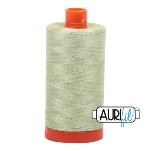 Aurifil Cotton 3320 50wt 1422 yds Var Spring Green