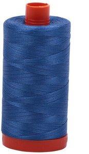 Aurifil Cotton 6738 50wt 1422 yds Peacock Blue