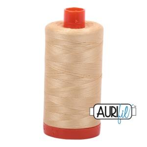 Aurifil Cotton MK50SC6-6001 50wt 1422 yds Camel