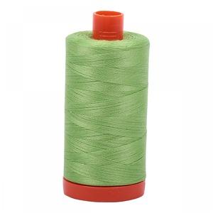 Aurifil Cotton 5017 50wt 1422 yds Shining Green