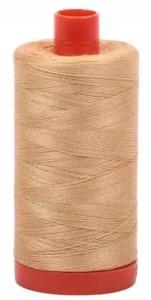 Aurifil Cotton 5001 50wt 1422 yds Ocher yellow