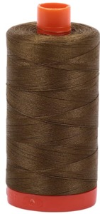Aurifil Cotton 4173 50wt 1422 yds Dk Olive