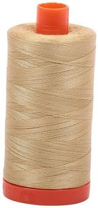 Aurifil Cotton 2915 50wt 1422 yds V Lt Brass