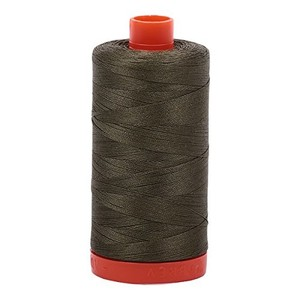 Aurifil Cotton 2905 50wt 1422 yds Army Green