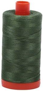 urifil Cotton 2890 50wt 1422 yds Dk Grass Green