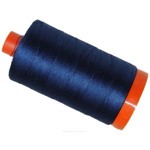 Aurifil Cotton 2780 50wt 1422 yds Dk Delft Blue