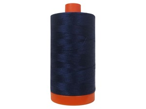 Aurifil Cotton 2745 50wt 1422 yds Midnight