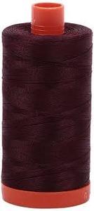 Aurifil Cotton 2468 50wt 1422 yds Dk Wine