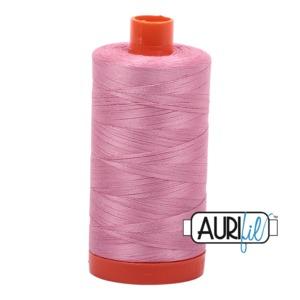 Aurifil Cotton MK50SC6-2430 50wt 1422 yds Antique Rose
