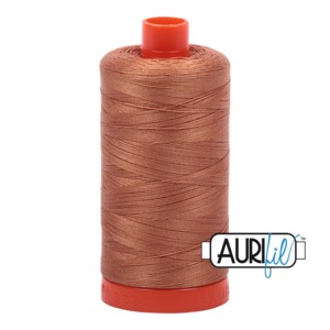 Aurifil Cotton 2330 50wt 1422 yds Lt Chestnut