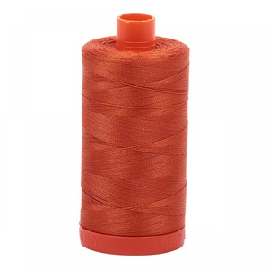 Aurifil Cotton 2240 50wt 1422 yds Rusty Orange