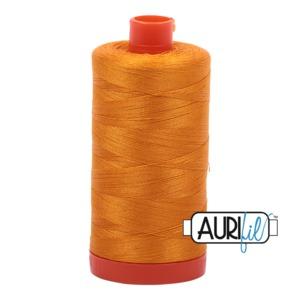 Aurifil Cotton MK50SC6-2145 50wt 1422 yds Yellow Orange