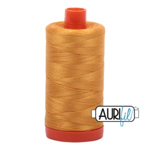 Aurifil Cotton 2140 50wt 1422 yds Mustard