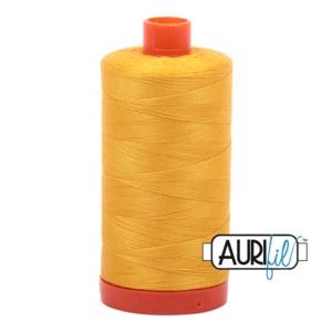 Aurifil Cotton 2135 50wt 1422 yds Yellow