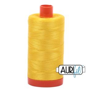 Aurifil Cotton MK50SC6-2120 50wt 1422 yds Canary