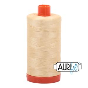 Aurifil Cotton MK50SC6-2105 50wt 1422 yds Champagne