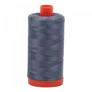 Aurifil Cotton 1246 50wt 1422 yds Grey