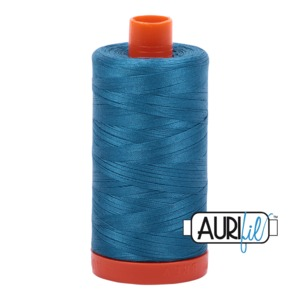 Aurifil Cotton MK50SC6-1125 50wt 1422 yds Med Teal