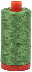 Aurifil Cotton 1114 50wt 1422 yds Grass Green