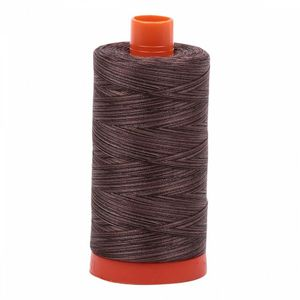 Aurifil Cotton 4671 50wt 1422 yds Variegated Mocha Mousse